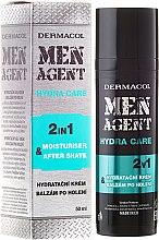Düfte, Parfümerie und Kosmetik After Shave Balsam - Dermacol Men Agent Moisturiser After Shave