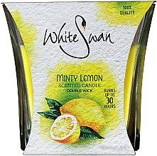 Düfte, Parfümerie und Kosmetik Duftkerze im Glas Minty Lemon - White Swan Lovely Minty Lemon