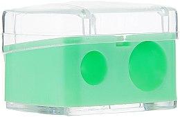 Düfte, Parfümerie und Kosmetik Doppelspitzer mit Deckel hellgrün - Top Choice