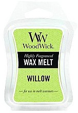 Düfte, Parfümerie und Kosmetik Tart-Duftwachs Willow - WoodWick Mini Wax Melt Willow Smart Wax System
