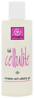 Anti-Cellulite Gel mit Zimt - Oranjito Anti-Cellulite Gel
