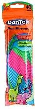 Düfte, Parfümerie und Kosmetik Zahnseide-Sticks 40 St. - DenTek Wild Fruit Fun Flossers
