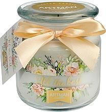 Düfte, Parfümerie und Kosmetik Duftkerze im Glas All the Best 10x11 cm 360 g - Artman All the Best