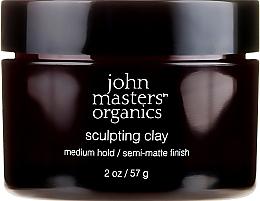 Düfte, Parfümerie und Kosmetik Mattierendes Haarwax mit mittlerem Halt - John Masters Organics Sculpting Clay Medium Hold Matte Finish