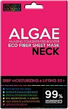 Düfte, Parfümerie und Kosmetik Tief feuchtigkeitsspendende Lifting-Tuchmaske für den Hals mit Algen 20+ - Beauty Face IST Deep Moisturizing & Lifting Neck Mask Algae