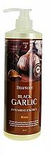 Düfte, Parfümerie und Kosmetik Intensiv energetisierende und beruhigende Haarmaske mit schwarzem Knoblauchextrakt - Deoproce Black Garlic Intensive Energy Hair Pack