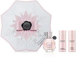 Düfte, Parfümerie und Kosmetik Viktor & Rolf Flowerbomb - Duftset (Eau de Parfum 50ml+Körperlotion 50ml+Duschgel 50ml)