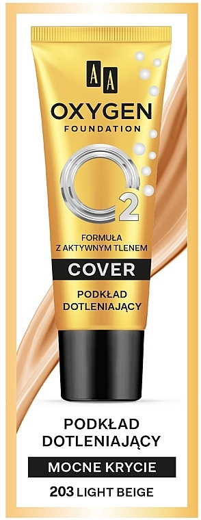 Foundation - AA Oxygen Cover Foundation