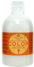 Düfte, Parfümerie und Kosmetik Color Shampoo mit Leinöl und mit UV-Filter - Kallos Cosmetics Color Shampoo With Linseed Oil