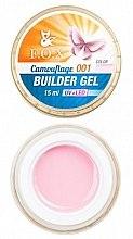 Düfte, Parfümerie und Kosmetik Aufbau-Nagelgel - F.O.X Cover Camouflage Builder Gel 15 ml