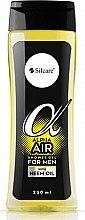 Düfte, Parfümerie und Kosmetik Duschgel mit Neemöl - Silcare Alpha Air Men