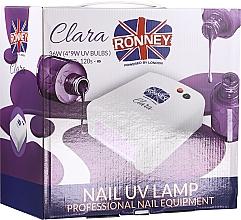 Düfte, Parfümerie und Kosmetik UV-Lampe für Nageldesign rosa - Ronney Profesional Clara UV 36W (GY-UV-818) Lamp