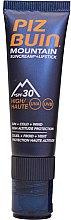 Düfte, Parfümerie und Kosmetik Sonnenschutzcreme und Lippenbalsam LSF 30 - Piz Buin Mountain Suncream + Lipstick SPF 30