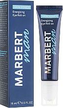 Düfte, Parfümerie und Kosmetik Belebendes und erfrischendes Roll-on-Serum für die Augenpartie - Marbert Man Skin Power Energizing Eye Roll-on