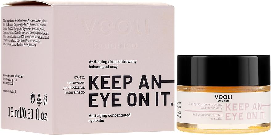 Konzentrierter Anti-Aging Balsam für die Augenpartie - Veoli Botanica Anti-aging Concentrated Eye Balm Keep An Eye On It