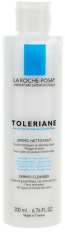 Reinigungsfluid zum Abschminken für Augen und Gesicht - La Roche-Posay Toleriane Dermo-Cleanser 200 ml — Bild N3