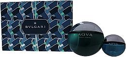Düfte, Parfümerie und Kosmetik Bvlgari Aqva Pour Homme - Duftset (Eau de Toilette 100ml + Eau de Toilette Mini 15ml)