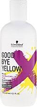 Düfte, Parfümerie und Kosmetik Hochpigmentiertes Anti-Gelb-Shampoo, sulfatfrei - Schwarzkopf Professional Goodbye Yellow Neutralizing Shampoo