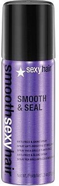 Anti-Frizz Haarspray für mehr Glanz - SexyHair SmoothSexyHair Smooth and Seal Anti-Frizz and Shine Spray — Bild N2