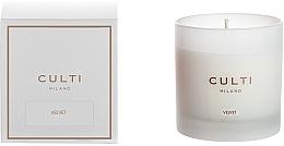 Düfte, Parfümerie und Kosmetik Duftkerze Velvet - Culti Milano Candle Bianco Velvet