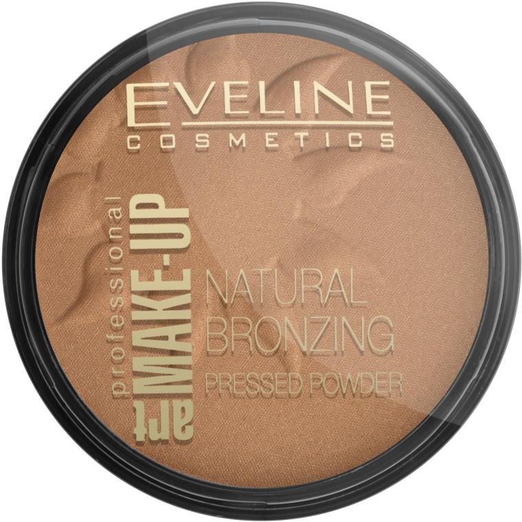 Gepresster Bronzing-Puder - Eveline Cosmetics Art Professional