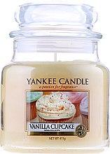"""Düfte, Parfümerie und Kosmetik Yankee Candle Vanilla Cupcake - Duftkerze im Glas mit natürlichen Extrakten """"Vanilla Cupcake"""""""
