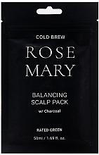 Düfte, Parfümerie und Kosmetik Revitalisierende Kopfhautmaske mit Rosmarinsaft und Aktivkohle - Rated Green Cold Brew Rosemary Balancing Scalp Pack