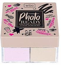 Düfte, Parfümerie und Kosmetik 2in1 Korrigierende Make-up Base und Fixierpuder - Wibo Photo Ready Loose Powder