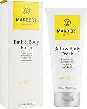 Düfte, Parfümerie und Kosmetik Erfrischende Körperlotion mit Zitrusduft - Marbert Bath & Body Fresh Refreshing Body Lotion