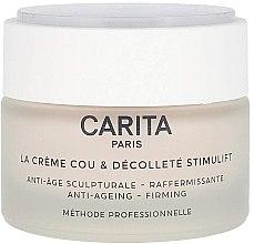 Düfte, Parfümerie und Kosmetik Straffende Anti-Aging Hals- und Dekolletécreme - Carita La Creme Cou Et Decollete Stimulift