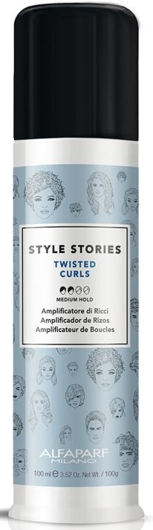 Lockendefinierende Haarcreme Mittlerer Halt - Alfaparf Style Stories Twisted Curls Medium Hold