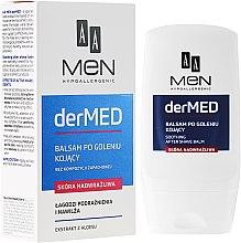 Düfte, Parfümerie und Kosmetik Feuchtigkeitsspendender After Shave Balsam für empfindliche Haut - AA Cosmetics Men derMED After-Shave Balm