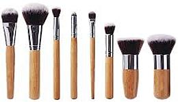 Düfte, Parfümerie und Kosmetik Make-up Pinselset 10 St. - Fascination Bamboo Complexion & Eyes