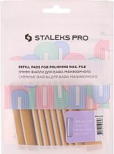 Düfte, Parfümerie und Kosmetik Ersatzfeilenblätter auf Schaumstoffbasis DFE-51-240 gerade - Staleks Pro (10 St.)