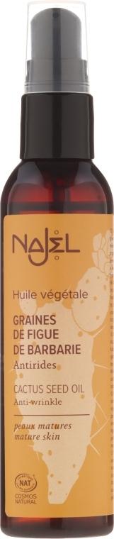 Nährendes Kaktusfeigenkernöl für Gesicht, Körper, Haar und Nägel - Najel Cactus Seed Oil — Bild N1