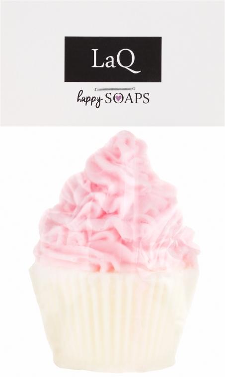Handgemachte Naturseife Muffin mit Kirsch- und Ananasduft - LaQ Happy Soaps Natural Soap