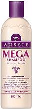 Düfte, Parfümerie und Kosmetik Mildes Basis-Shampoo für alle Haartypen - Aussie Mega Shampoo