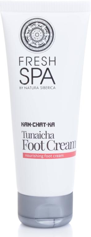 Tief pflegende Hand- und Fußcreme - Natura Siberica Fresh Spa Kam-Chat-Ka Tunaicha Foot Cream — Bild N2