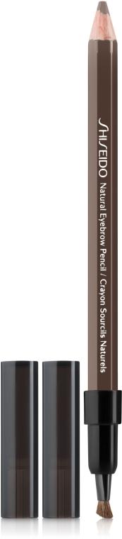 Augenbrauenstift - Shiseido Natural Eyebrow Pencil — Bild N1
