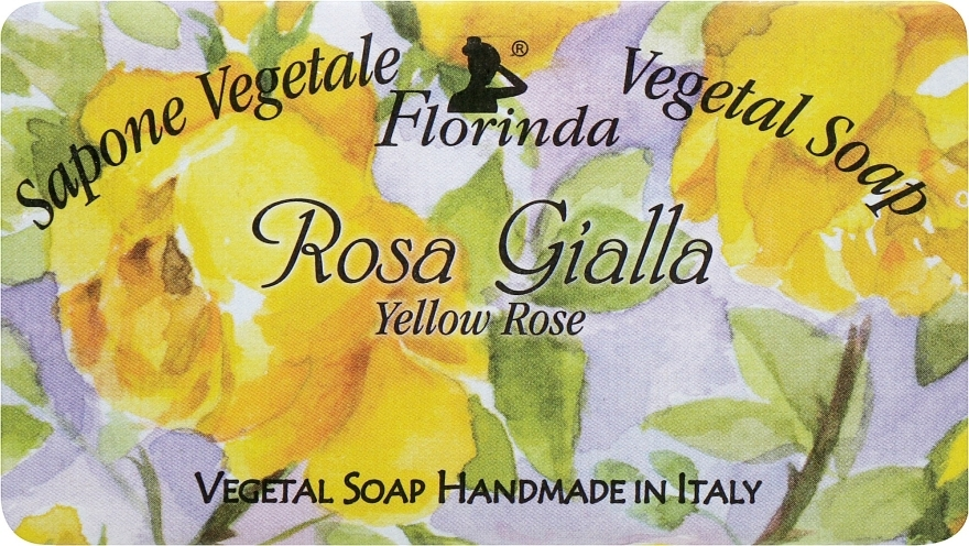 Naturseife Yellow Rose - Florinda Sapone Vegetal Soap Yellow Rose