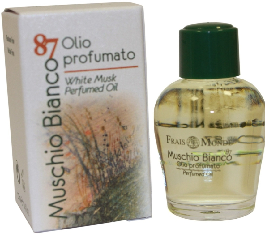 Parfümiertes Öl mit weißem Moschus - Frais Monde White Musk Perfumed Oil