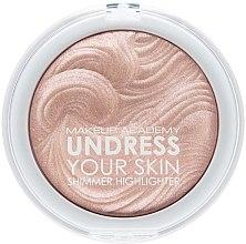 Düfte, Parfümerie und Kosmetik Flüssiger Highlighter - MUA Makeup Academy Shimmer Highlighter Powder