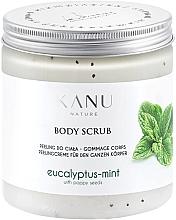Düfte, Parfümerie und Kosmetik Körperpeeling Eukalyptus mit Minze - Kanu Nature Eucalyptus With Mint Body Scrub