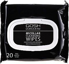 Düfte, Parfümerie und Kosmetik Make-up-Entfernungstücher mit Mizellenwasser - Gosh Donoderm Micellar Cleansing Wipes