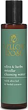 Düfte, Parfümerie und Kosmetik Mizellenwasser mit Olivenblatt und Kräuterextrakt - Yellow Rose Olive & Herbs Micellar Cleansing Water