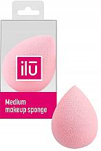 Düfte, Parfümerie und Kosmetik Schminkschwamm mittel rosa - Ilu Sponge Raindrop Medium Pink