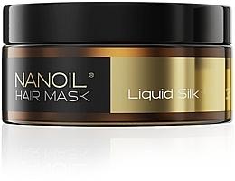 Düfte, Parfümerie und Kosmetik Regenerierende Haarmaske mit Seidenproteinen - Nanoil Liquid Silk Hair Mask