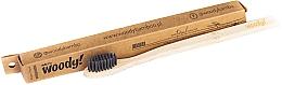 Düfte, Parfümerie und Kosmetik Bambuszahnbürste weich Natural schwarz - WoodyBamboo Bamboo Toothbrush Natural