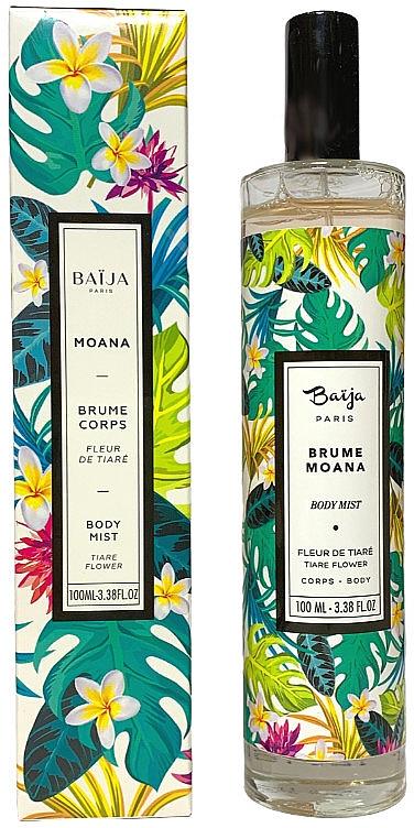 Körpernebel mit Tiare-Blüten - Baija Moana Body Mist