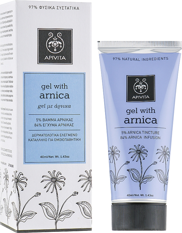 Fußgel mit Arnika - Apivita Healthcare Gel with Arnica — Bild N1